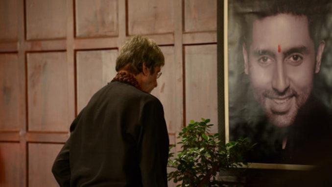 Amitabh Bachchan shooting for Sarkar 3