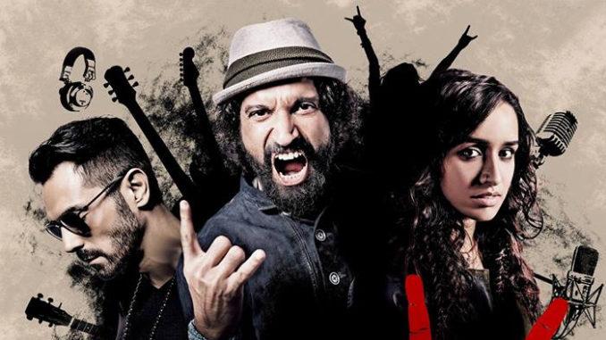 Arjun Rampal, Farhan Akhtar, Shraddha Kapoor in Rock On 2