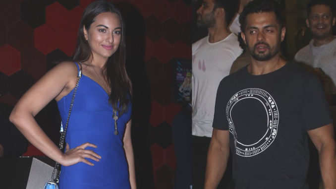 sonakshi sinha parties with rumoured boyfriend bunty sajdeh