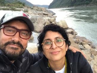 Aamir Khan, Kiran Rao in Arunachal Pradesh. Image Courtesy: Twitter