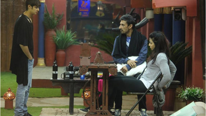 Bani sits to pedal, Rahul accompanies her in the punishment