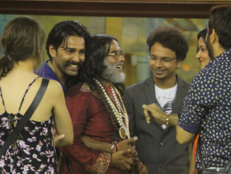 Bigg Boss contestants greet Om Swami
