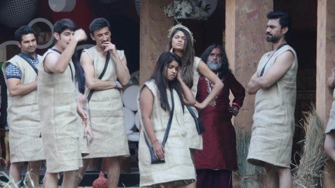 Bigg Boss contestants inside the house