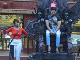 Karan Mehra, Lokesh inside the Bigg Boss house