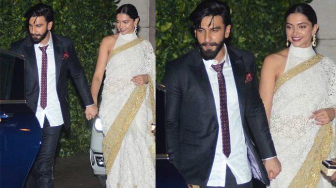 Ranveer Singh, Deepika Padukone exit from Ambani's party