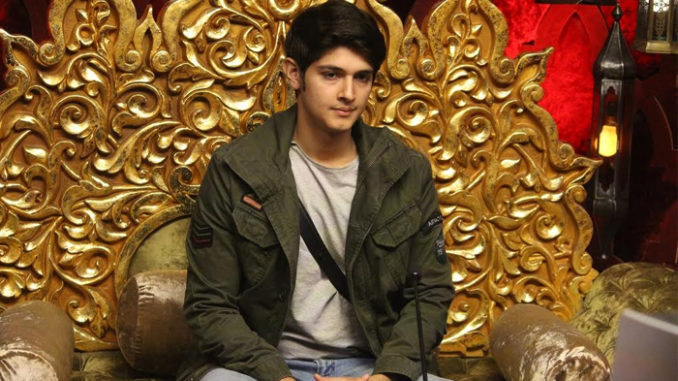 Rohan as the enw captain of the Bigg Boss house
