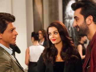 Shah Rukh Khan, Aishwarya Rai Bachchan, Ranbir Kapoor in Ae Dil Hai Mushkil