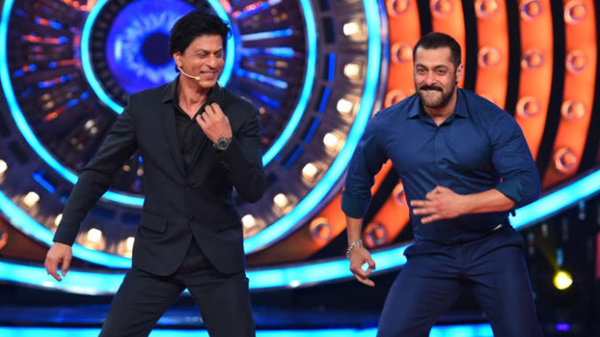 Shah Rukh Khan, Salman Khan on Bigg Boss 9