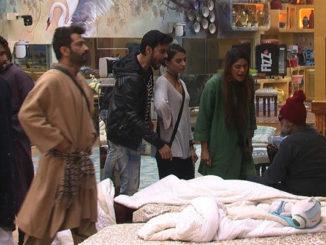 Bigg Boss contestants confront Om Swami