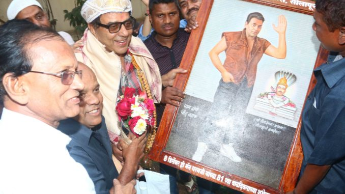 Dharmendra snapped on his birthday