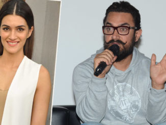 Kriti Sanon, Aamir Khan