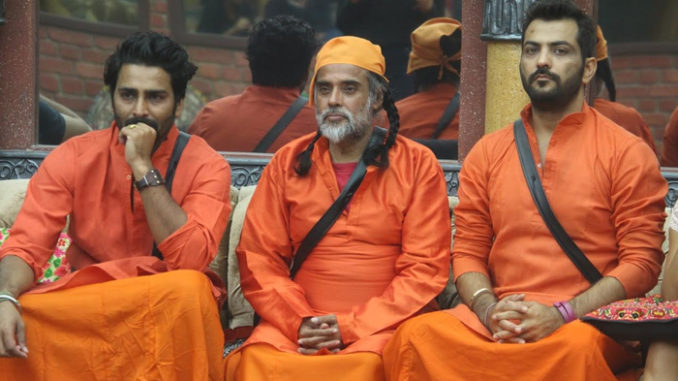 Om Swami with Manveer and Manu