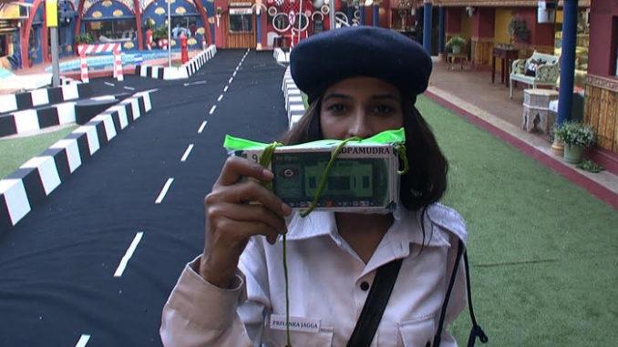 Priyanka with Lopa's points
