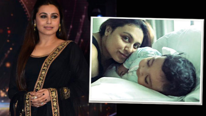 Rani Mukerji with Adira