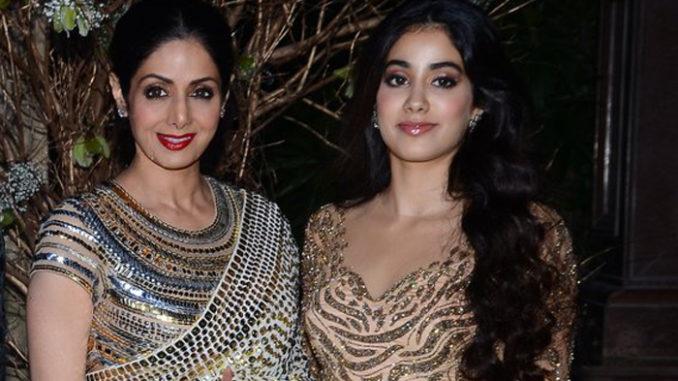 Sridevi with daughter Janhavi Kapoor