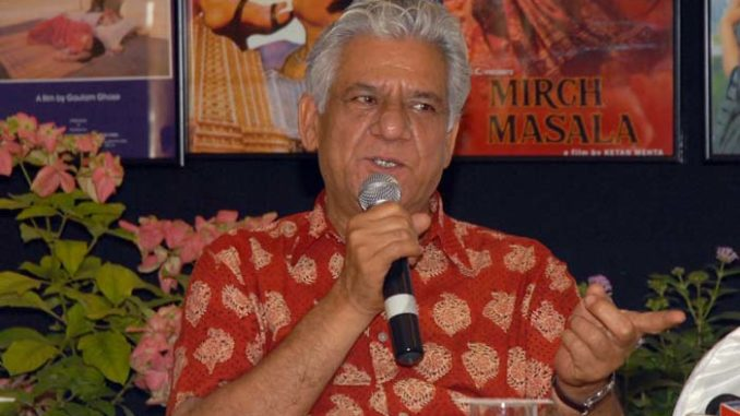 A file photo of Om Puri