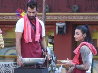 Manu, Bani perform the dhaba task
