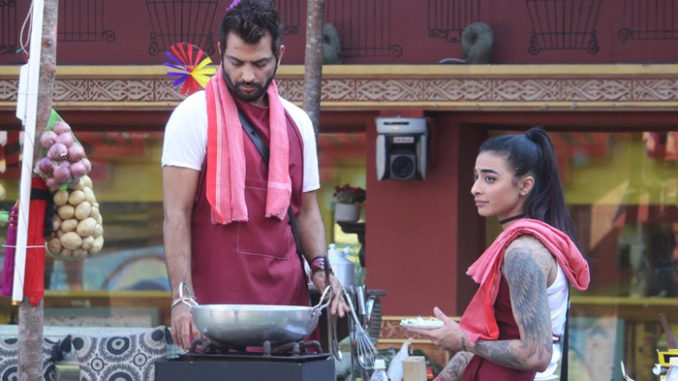 Manu, Bani perform the dhaba task