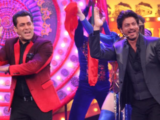 Salman, Shah Rukh Khan perform on stage