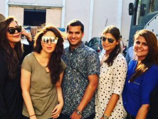 Kareena Kapoor Khan at Mehboob studios. Image Courtesy: Instagram