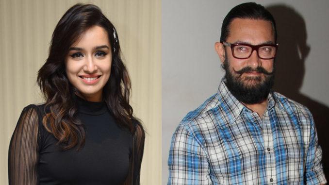 Shraddha Kapoor, Aamir Khan