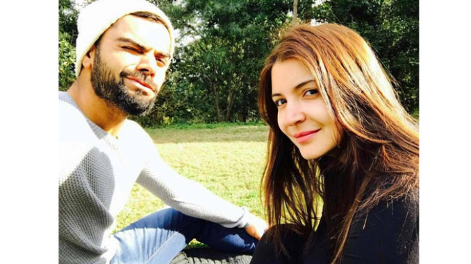 Virat Kohli, Anushka Sharma. Image Courtesy: Facebook