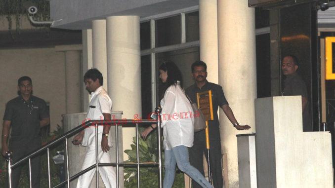 Aishwarya Rai Bachchan at Lilavati Hospital