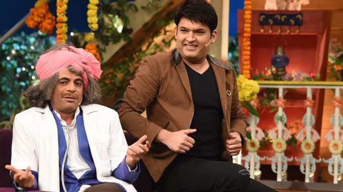 Sunil Grover, Kapil Sharma on the show