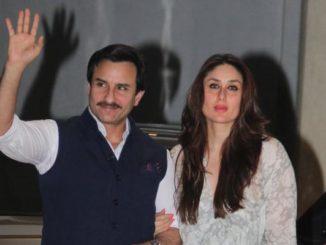 Saif Ali Khan, Kareena Kapoor Khan arrive for Babita's birthday celebrations