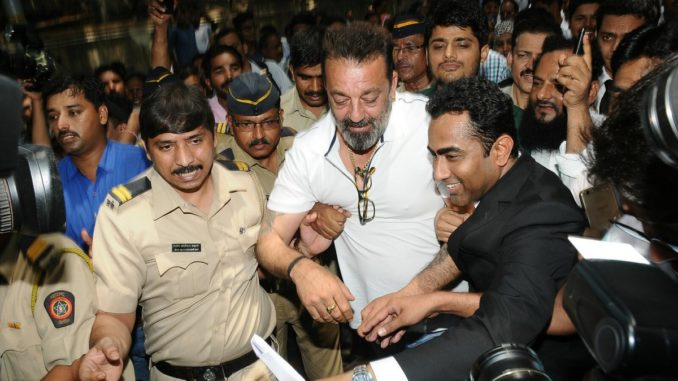 Sanjay Dutt appears in Andheri Court