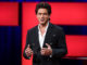 Shah Rukh Khan at TED Talks in Canada. Image Courtesy: Twitter