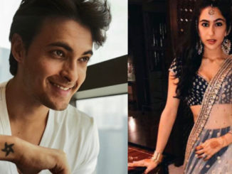 Aayush Sharma, Sara Ali Khan. Image Courtesy: Instagram