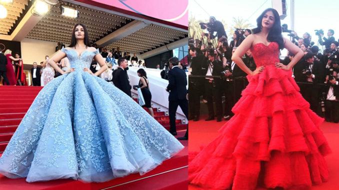 Aishwarya Rai Bachchan at Cannes Film Festival 2017.Image Courtesy: Twitter