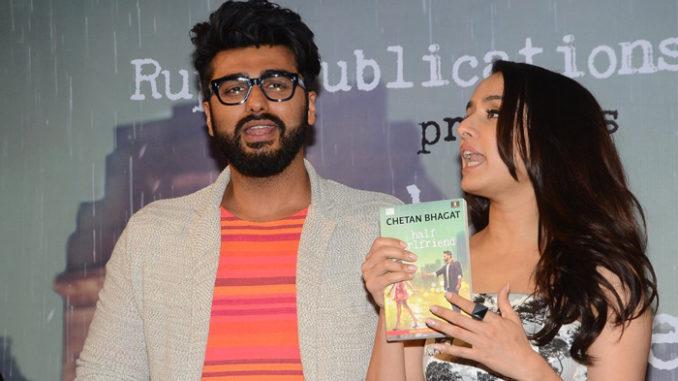 Arjun Kapoor, Shraddha Kapoor at Half Girlfriend book launch