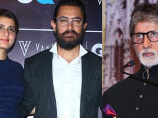 Fatima Sana Shaikh, Aamir Khan, Amitabh Bachchan