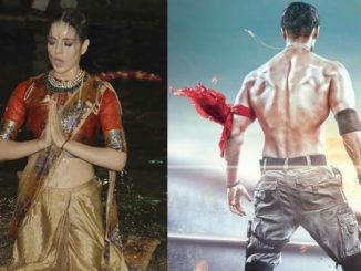 Kangana Ranaut taks a dip in Ganga during Manikarnika poster launch, Tiger Shroff in Baaghi 2