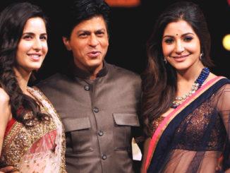Katrina Kaif, Shah Rukh Khan, Anushka Sharma
