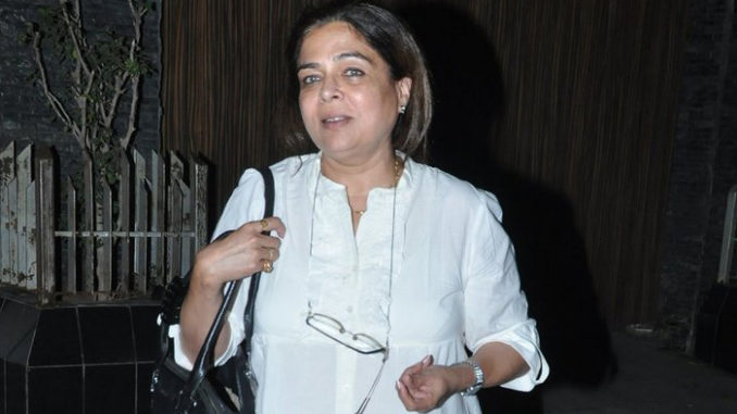 A file photo of Reema Lagoo leaving from Aamir Khan's home after attending a party last year