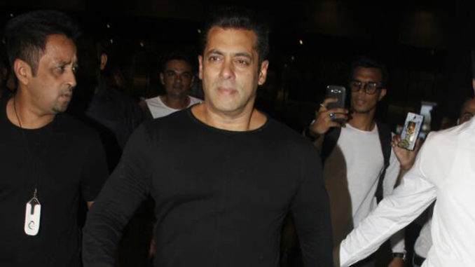 Salman Khan returns from Dubai