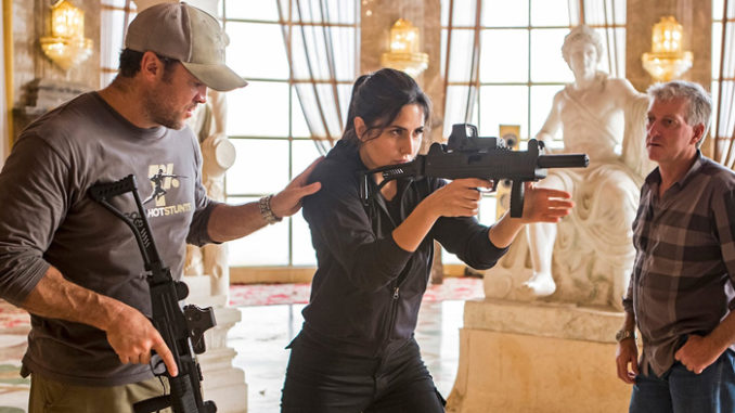 Katrina Kaif trains for Tiger Zinda Hai