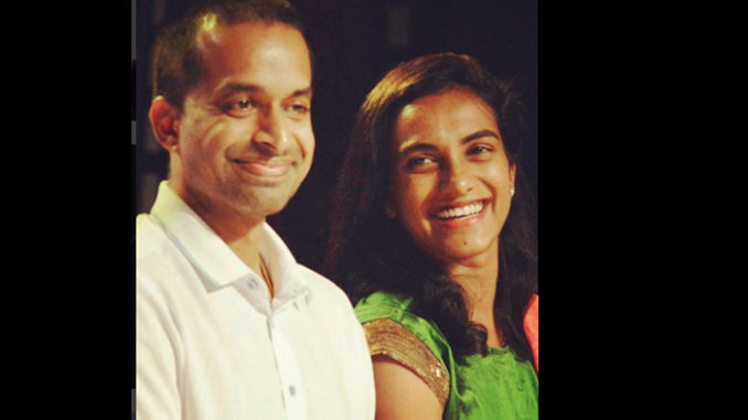 PV Sindhu with Pullela Gopishand. Image Courtesy: Instagram