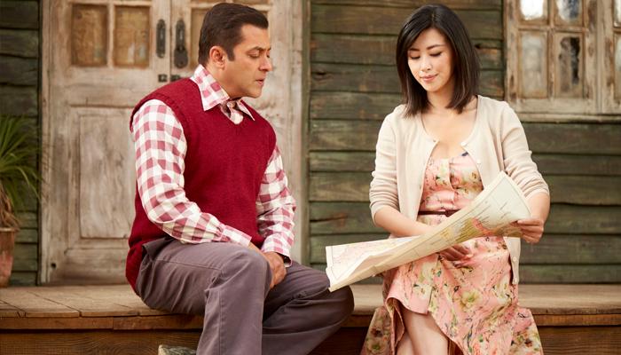 Salman Khan, Zhu Zhu in Tubelight