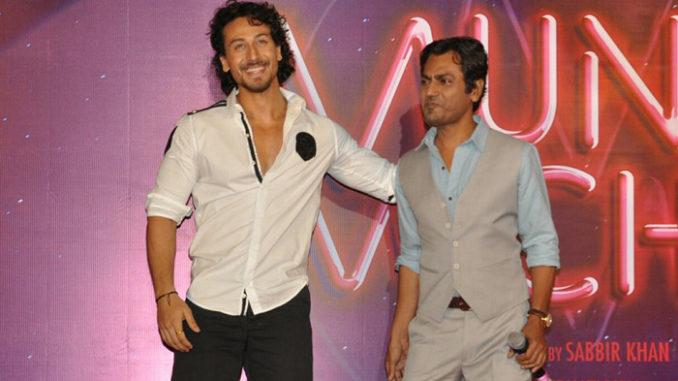 Tiger Shroff, Nawazuddin Siddiqui at Munna Michael trailer launch
