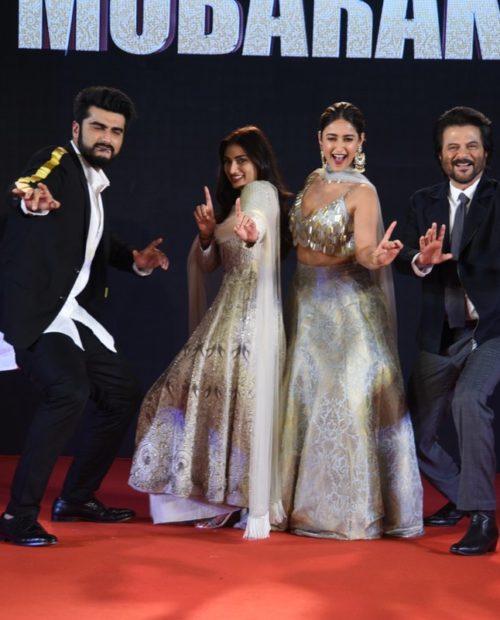 Arjun Kapoor, Athiya Shetty, Ileana D'Cruz, Anil Kapoor