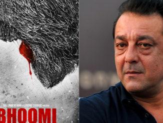 Bhoomi teaser poster, Sanjay Dutt