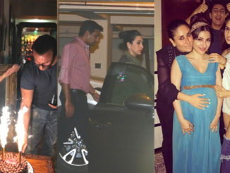 Saif Ali Khan's birthday celebrations