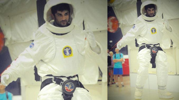 Sushant Singh Rajput training at NASA
