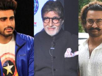 Arjun Kapoor, Amitabh Bachchan, Aamir Khan