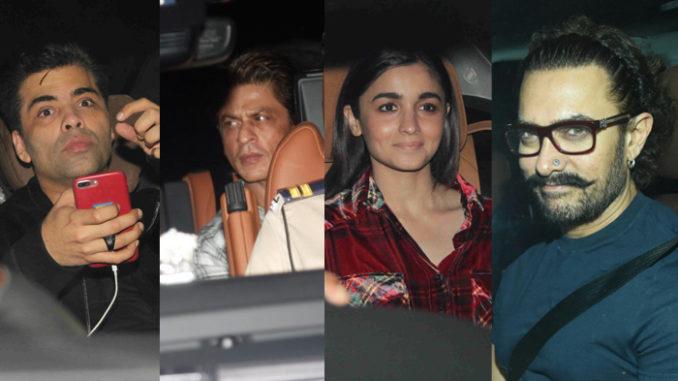 Celebs at Ranbir Kapoor's birthday bash