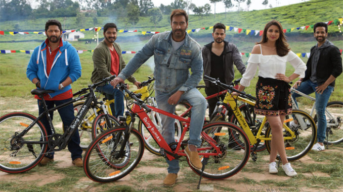 Golmaal Again team with Being Human e-cycles